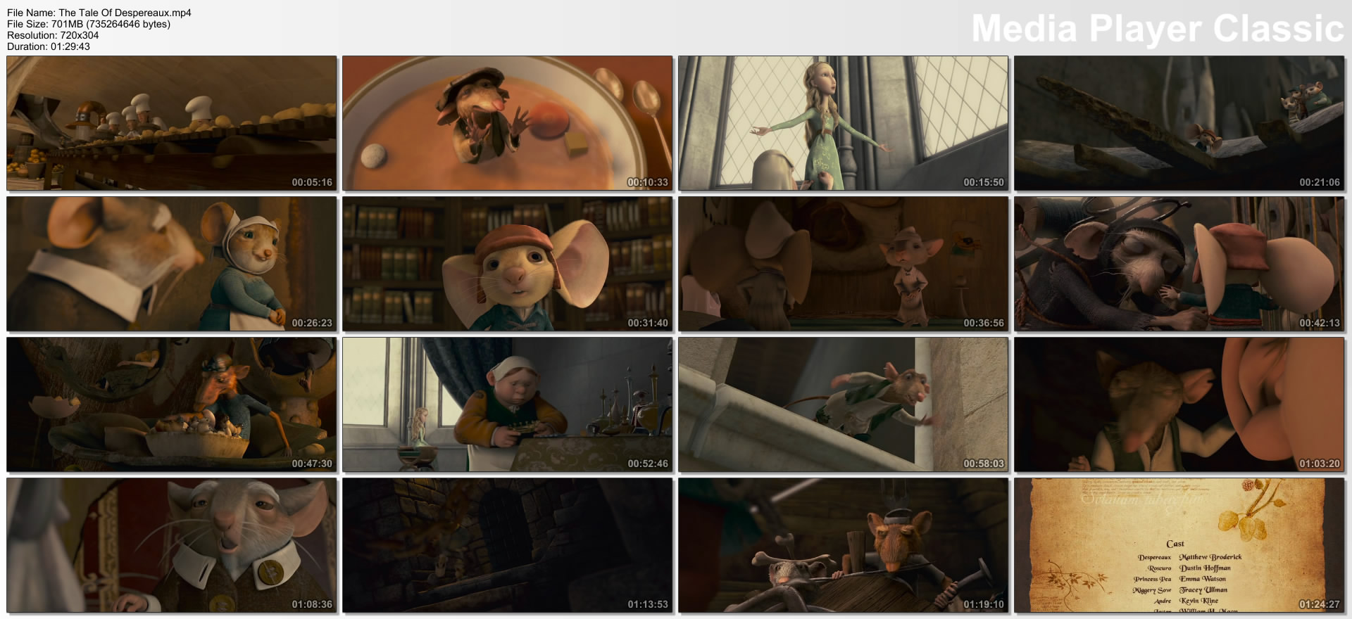 The Tale Of Despereaux 2008 R5 LINE H264 SecretMyth (Kingdom Release) preview 1