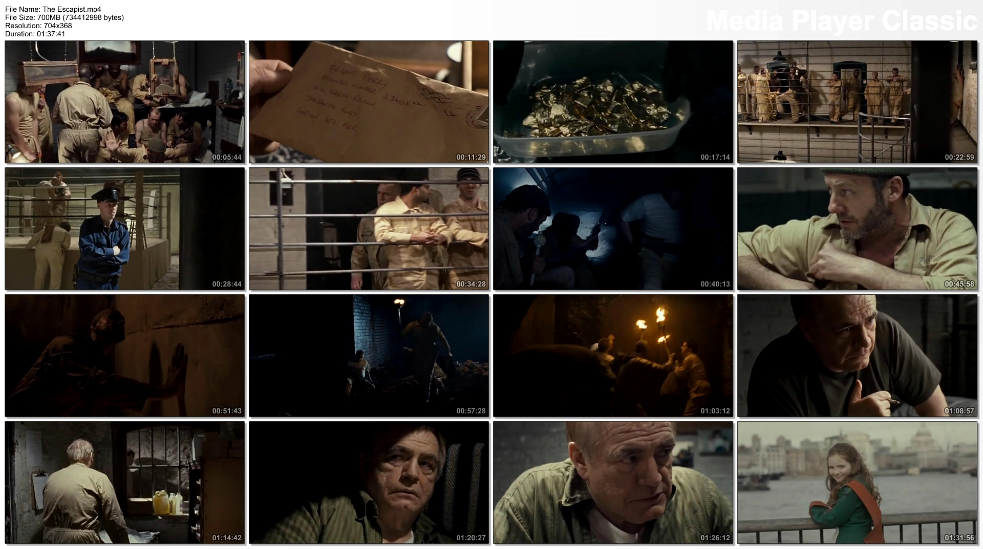 The Escapist 2008 DVDRip H264 AAC SecretMyth (Kingdom Release) preview 1
